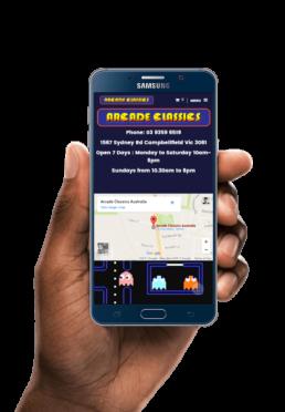 arcade-classics-ressponsive-website-design